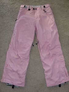 Looks New Girls E408 Snow Pants Sz XL Pink Ski Snow Pants