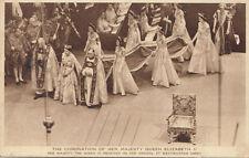 Photochrom Co Ltd Coronation Collectable Royalty Postcards