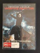 Abraham Lincoln Vampire Hunter 2012 - DVD - Horror - Halloween - Genuine Sale