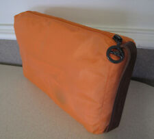Longchamp Men's Rain coat belt Orange travel bag sz M New