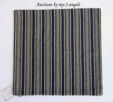 New Pottery Barn Johnston Striped Pillow Cover 18X18 Blue Navy Nwt
