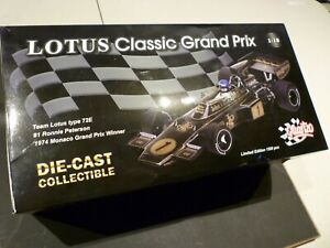 Quartzo 1/18  Lotus Type 72E 1974 Monaco Ronnie Peterson #1 John Player Special