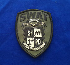 San Fransisco SWAT Police Patch - Special Operations Group #1