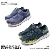 Hoka One One Clifton 5 Knit Running Shoes Time To Fly Pick 1