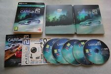 Project Cars 2 Limited Edition - Steel Case, STEELBOOK G2 + COVER + STICKERS