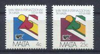 S8249) Malta 1981 MNH Malta International Fair 2v