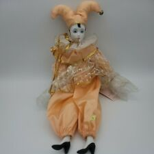 Vintage Victoria Impex Fool Doll with Original Tags.