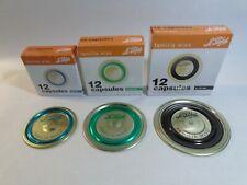 Le Parfait Sealing Discs/Lids/Capsules, For Familia Wiss Terrines - 82/100/110mm