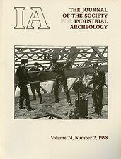IA Journal of the Society For Industrial Archeology 1998 Vol 24 No 2