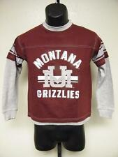 NEW UNIVERSITY OF MONTANA GRIZZLIES youth size M MEDIUM 10-12  T-Shirt  76KB