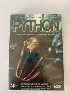 Python - DVD - Non Stop Action & Terror Between Predator & Prey Region 4