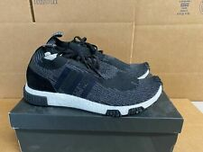 Adidas Originals NMD Boost Racer PrimeKnit Running Grey Black AQ0949 Men sz 12.5