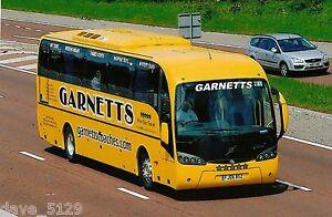 Bus / Coach Photo: GARNETTS of County Durham - Volvo - FJ06 BSZ