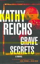 Grave Secrets: A Novel (Temperance Brennan Novels), Kathy Reichs, Good Book