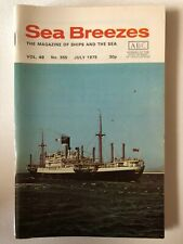 Sea Breezes Magazine July 1975 v49n355
