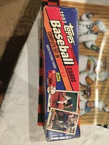 Topps 1993 Complete Set of Series 1 & 2 Baseball Cards