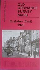 Old Ordnance Survey Map Rushden East 1923 Northamptonshire Sheet 40.10 New