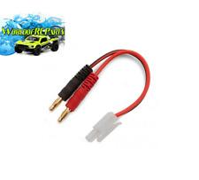 Charger Adaptor: Banana Plug to Tamiya Male DYNC0071
