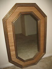 Mirror Painted Bronze Timber Frame