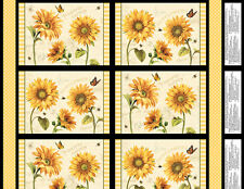 FABRIC PLACEMAT PANEL-FOLLOW THE SUN-100% COTTON-KITCHEN-BY THE PANEL-86427 951