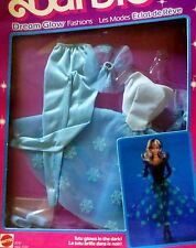 BARBIE 1985 DREAM GLOW FASHION ABEND KLEID RAR ZAUBERGLANZ VINTAGE  #2191 NRFB
