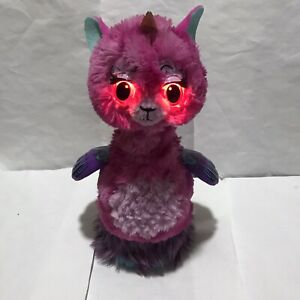 Hatchimals Wow Lalacorn Furry Interactive Lama #19154 Working Fully