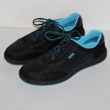 SAS Sporty Lace Up Sneaker Men Size 11 Black and Blue EUC