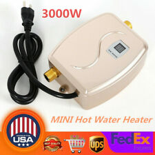 110V Mini Instant Electric Tankless Hot Water Heater Shower Kitchen USA