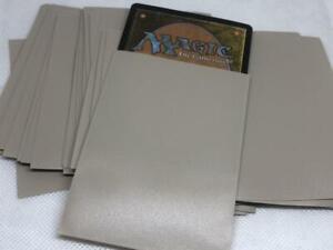 Lenayuyu 100pcs Sand color Protector Standard MTG Card Sleeves 66x91mm Glossy