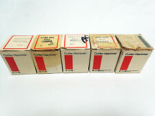 LOT OF 5 CUTLER-HAMMER RUBBER BOOT PUSH BUTTON COVERS 10250TA3 AND 10250TA4 BNIB