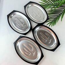 Vintage Nordic Ware Serv-a-Sizzle Cactus Aluminum Bakelite Dish/Platter/Holder 4