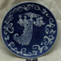 "Vintage 1972 Mors Dag Royal Copenhagen Benmare Mother's Day 6"" Plate"