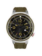 POSEIDON Unisex-Armbanduhr S Analog Silikonband UP00414 Olivgrün UVP 119,- €