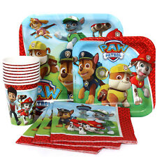 New Paw Patrol Combo Express Birthday Pack for 8 Guests (Cups Napkins & Plates)