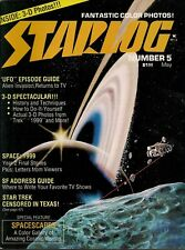 Starlog No.5 1977 3-D SPECTACULAR,SPACE:1999,UFO