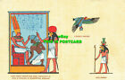 R602373 God Horus Protecting King Amenhotep III. Goddess Nekhbet. God Khnum. No.