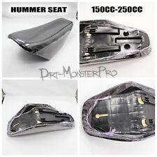 Hummer Black Foam Seat for 150cc 200cc 250cc Atomik Hummer Dirt Pit Trail Bike