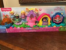 Fisher Price Little People Disney Princess Parade 5 Pack Mermaid Cinderella +