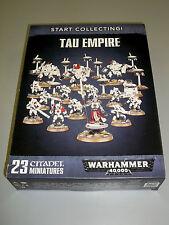 Warhammer 40K TAU EMPIRE Start Collecting Box Set!! Brand New!!