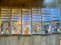 THE NEW MUTANTS- Lot Of 29 Issues # 1-29 With CGC Graded