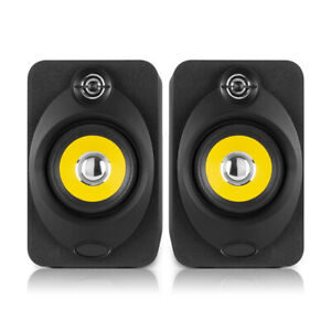 "XP40 Bluetooth Active Studio Monitor Speakers 4"" Media Desktop DJ Producer Pair"