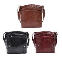 Women Leather Shopping Messenger Bag Satchel Mother Shoulder Crossbody Bag  SS6