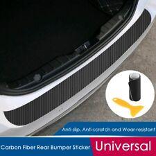 Car Rear Bumper Trunk Sill Cover Anti Scratch Carbon Fiber Sticker Accessories