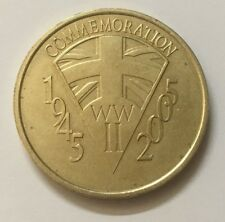 Commemoration WW2 1945-2005 60th Anni End of The Second World War Coin RDL440