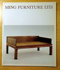 MING FURNITURE LTD. Illustrated Catalogue 1989