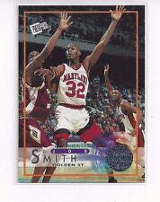 1996 PRESS PASS BASKETBALL PARALLEL SILVER SWISSSH INSERT JOE SMITH #35