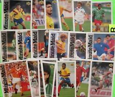 Full Set 25 Cards  1994  SOCCER WORLD CUP ALL-STARS  BY MINUTE MAID