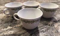 "Corelle Livingware by Corning ""Spring Blossom"" Coffee/Tea Mugs (Set Of 4)"