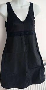 Women Full Slip Under Dress Petticoat Camisole Sleepwear Lace size S used