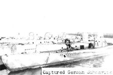 WWI (6 x 4) Repro German RP- Navy- Submarine- U-Boat- Surrendered to Allies